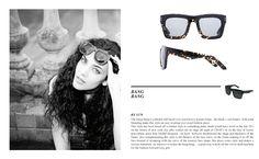 Bang Bang - Patty smith would have worn those in the late 70's...! #sunglasses #eyewear #roxy #BangBang