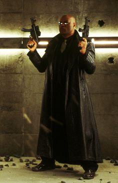 Laurence Fishburne in The Matrix Revolutions