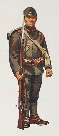 Japanese Army Uniforms