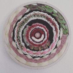 Tissage végétal et fleuri (circulaire)