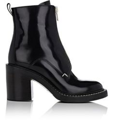 RAG & BONE Shelby Zip-Front Ankle Boots. #ragbone #shoes #boots