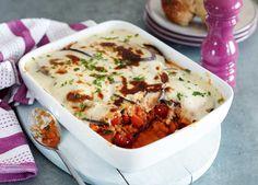 Creamy red lentil moussak image