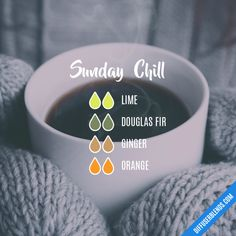 Sunday Chill - Essential Oil Diffuser Blend