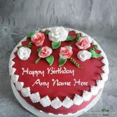 Popular Happy Birthday Cake Photo With Name