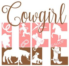 Cowgirl LIFE Cutting File Studio 3 Silhouette by RatchetCatDesigns
