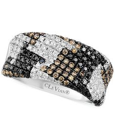 Actually really love this ring le vian exotics 174 houndstooth
