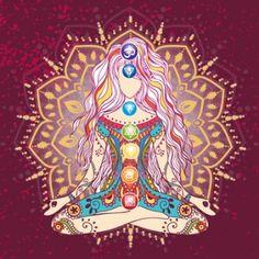 Spiritual Tips And Strategies For Yoga Yoga Studio Design, Art Chakra, Yoga Kunst, Girly Images, Gunslinger Girl, Signo Libra, Cute Baby Girl Outfits, Bikram Yoga, Yoga Art