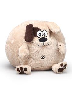 This Cuddly Buddies by Berkshire Blanket Parker Puppy Cuddly Buddies Pillow by Cuddly Buddies by Berkshire Blanket is perfect! #zulilyfinds