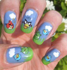 Rakkaus Kynsiin: Angry Birds -kynnet