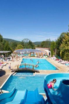 Camping Jura - Camping Le Moulin 4 * - Camping de France haut de gamme du Club Airotel. #airotel #camping #vacances