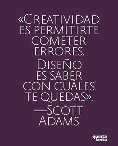 """Quienlodira Creaciones  """"Creatividad es permitirte cometer errores. El Diseño es saber con cuales te quedas."""" #quienlodira"""