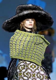 Cool Chic Style Fashion: Marc Jacobs RUNWAY fall 2012 2013 | details and hats