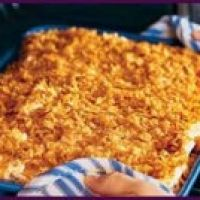 Pineapple Au Gratin it's not just a southern thing, great @ Easter or breakfast side dish always a hit