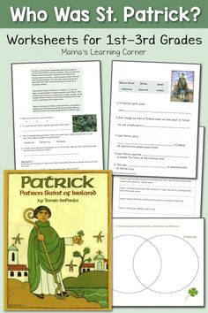 FREE St. Patrick's Day Pack for 1st- 3rd Graders
