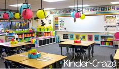This would make me want to go back to school all over again! I LOVE decorating my classroom!!! I miss it.