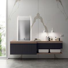 Badezimmer-ausstattung Aquo By Scavolini Bathrooms Design ... Badezimmer Ausstattung