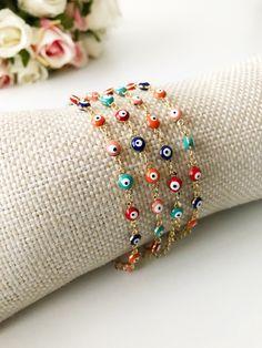 All about Bracelets Evil Eye Jewelry, Evil Eye Bracelet, Charm Armband, Coin Pendant Necklace, Murano Glass Beads, Evil Eye Pendant, Plastic Jewelry, Evil Eye Charm, Blue Beads