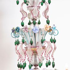 Semi Rezzonico Murano Glass Chandelier - Shop timeless lighting handcrafted in Italy: chandeliers, pendant lamps, table lamps and appliques - Home Décor and Interior Design ideas from Italy's finest artisans - Artemest