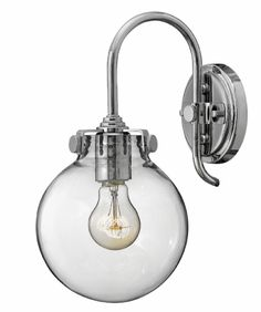 Hinkley Congress  wall sconce in chrome (3174CM).