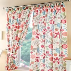 Tutti Frutti Pencil Pleat Curtains