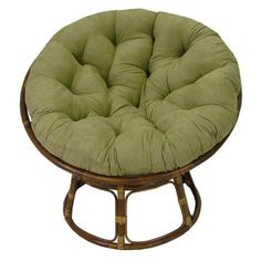 Papasan chair  I want one soo bad just not in this color