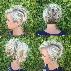 Hairstyle Stylish Messy Hairstyles for Short Hair - Women Short Haircut Ideas by alexandri. Stylish Messy Hairstyles for Short Hair - Women Short Haircut Ideas by alexandria Short Hair Cuts For Women, Short Hairstyles For Women, Messy Hairstyles, Short Haircuts, Hairstyle Ideas, Glasses Hairstyles, Hairstyles 2018, Wedding Hairstyles, Hair Ideas