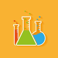 Chemistry icon by Quality of Work on Creative Market