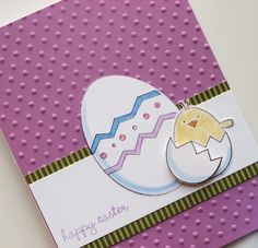 Neat easter card