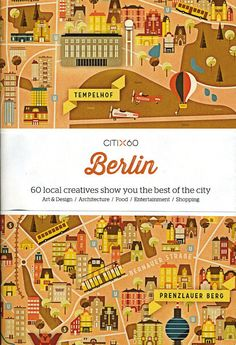 CITIx60 Berlin City Guide $16.95
