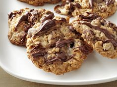 Monster Marshmallow Cookies recipe from Food Network Magazine via Food Network