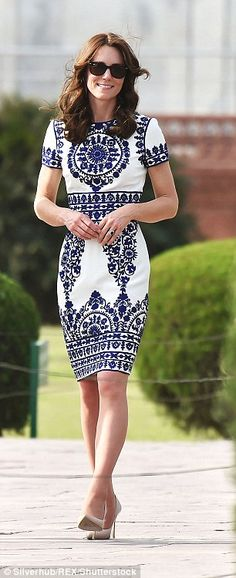 The Duchess in India...
