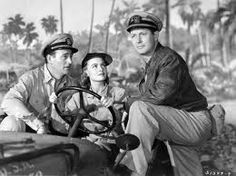 "Classic John Wayne with one of the most beautiful actresses Donna Reed, and Robert Montgomery from the movie ""The Were Expendable"""