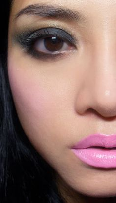 Candice of TheMakeupBox in Great pink Planet lipstick    lime crime, pale pink, lipstick, lips, blush, smokey eye, doll, makeup