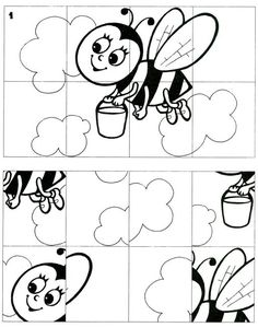 Print the puzzle, have your kids color it, cut it out, and have your kids put it back together!