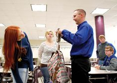 Therapists visit school to weigh backpacks (Owatonna People's Press)