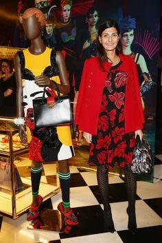 Giovanna Battaglia in Prada Iconoclasts by Edward Enninful - Milan Fashion Week Womenswear Autumn/Winter 2014
