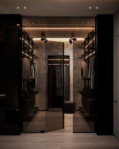 Dream House Interior, Luxury Homes Dream Houses, Dream Home Design, Modern House Design, Urban Apartment, Family Apartment, Black Interior Design, Appartement Design, Dark Interiors