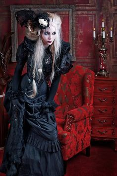 Victorian Gothic Fashion | Victorian-Gothic creates bespoke clothing inspired by historical ...