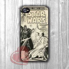 Star Wars Comic Cover Vintage - zzd for iPhone 4/4S/5/5S/5C/6/6+s,Samsung S3/S4/S5/S6 Regular/S6 Edge,Samsung Note 3/4