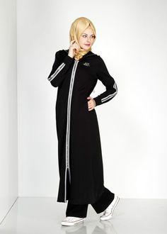 4783 Hilda Eşofman Tunik - Siyah - Alvina