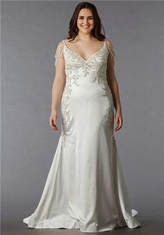 f43e7e86f8d2 Dina Davos for Kleinfeld - KW113 Plus Size Brides, Plus Size Wedding Gowns,  Plus
