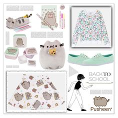 """""""#PVxPusheen"""" by arohii ❤ liked on Polyvore featuring Pusheen, Keds, Oris, contestentry and PVxPusheen"""