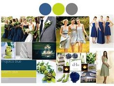 Blue And Gray As The Wedding Colorsunless You Own The Country Club Or The Bride And Groom