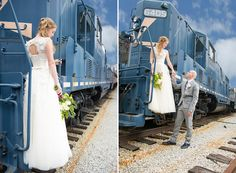 Railroad Wedding Shoot PHOTO SOURCE • ASHLEY MICHELLE PHOTOGRAPHY