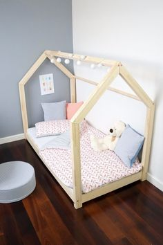 Original furniture made by ADEKO. Oryginal furniture made by ADEKO. Stable construction. 10 - 20 minutes. Children's bedMILA M. 23 Dimension. Wood safe for children. Dimensions of beds . | eBay!