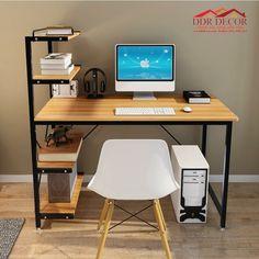 Welded Furniture, Iron Furniture, Home Furniture, Furniture Design, Home Office Setup, Home Office Desks, Office Decor, Home Room Design, House Design
