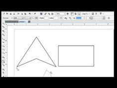 Angle Measurements in Corel Draw - Angular Dimension in Corel draw Corel Draw 7, Maths, Angles, Chart