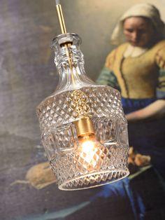 Glasgefäß-Pendelleuchte Brussels Its About RoMi Lamp, Glass Bulbs, Novelty Lamp, Edison Light Bulbs, Hanging Lamp, Buy Pendant Lights, Jar Lights, Globe Lights, Mason Jar Lamp