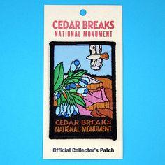Official Cedar Breaks National Monument Souvenir Patch Utah Park