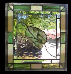 Stained Glass Window  Gentle Fall Panel by stainedglassfusion, $159.00